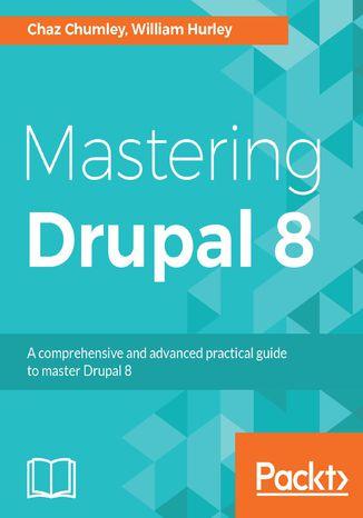 Okładka książki Mastering Drupal 8