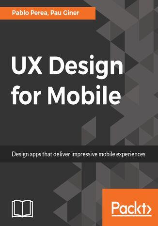 Okładka książki/ebooka UX Design for Mobile