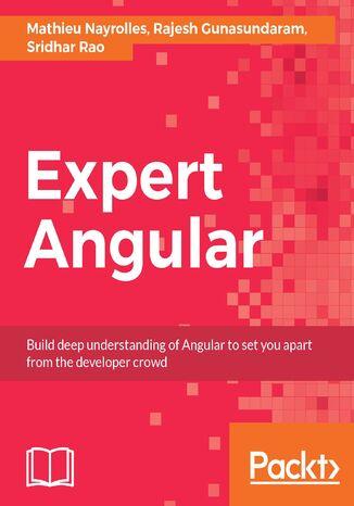 Okładka książki Expert Angular