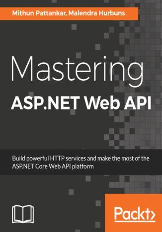 Okładka książki/ebooka Mastering ASP.NET Web API