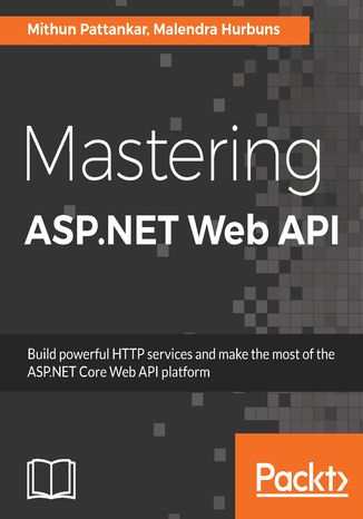 Okładka książki Mastering ASP.NET Web API