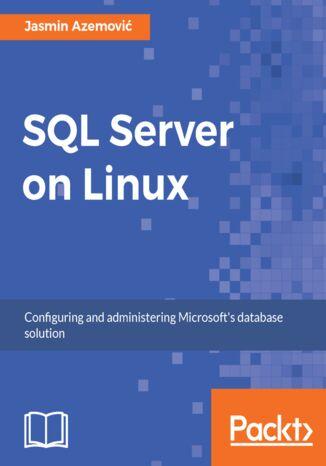 Okładka książki SQL Server on Linux