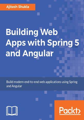 Okładka książki Building Web Apps with Spring 5 and Angular