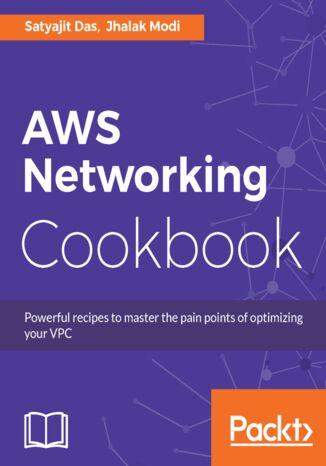 Okładka książki/ebooka AWS Networking Cookbook
