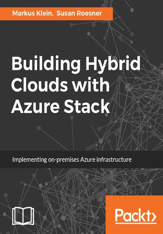 Okładka książki Building Hybrid Clouds with Azure Stack