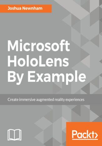 Okładka książki Microsoft HoloLens By Example