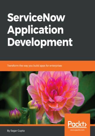 Okładka książki/ebooka ServiceNow Application Development