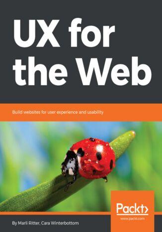 Okładka książki/ebooka UX for the Web