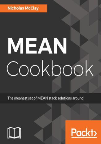 Okładka książki MEAN Cookbook