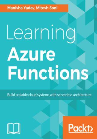 Okładka książki/ebooka Learning Azure Functions