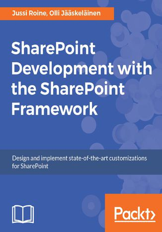 Okładka książki SharePoint Development with the SharePoint Framework