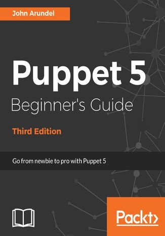 Okładka książki Puppet 5 Beginner's Guide - Third Edition