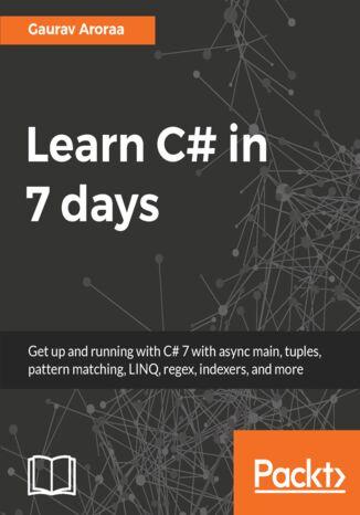 Okładka książki Learn C# in 7 days