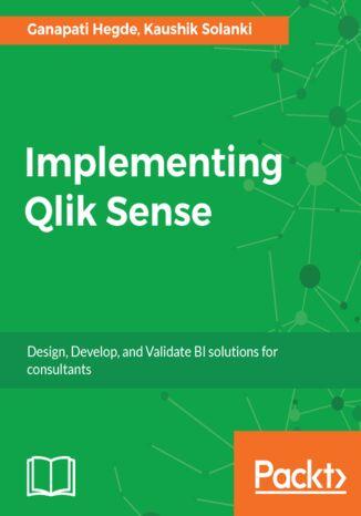 Okładka książki/ebooka Implementing Qlik Sense