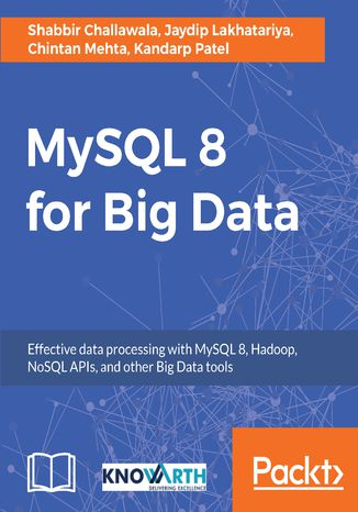 Okładka książki/ebooka MySQL 8 for Big Data