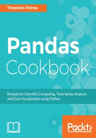 Okładka książki/ebooka Pandas Cookbook