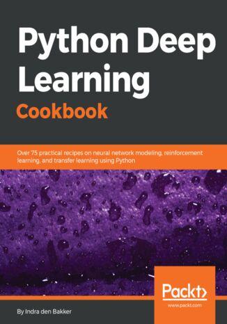 Okładka książki Python Deep Learning Cookbook