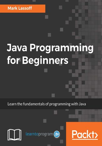Okładka książki/ebooka Java Programming for Beginners