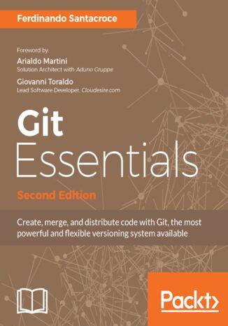 Okładka książki/ebooka Git Essentials - Second Edition
