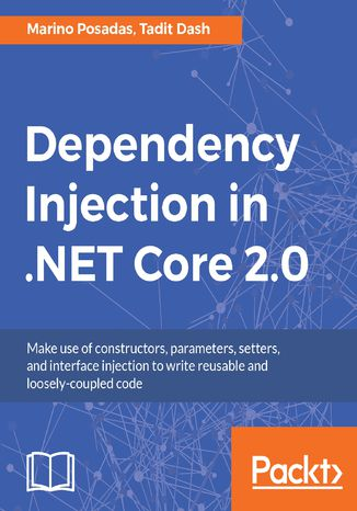 Okładka książki/ebooka Dependency Injection in .NET Core 2.0