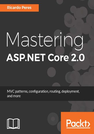 Okładka książki Mastering ASP.NET Core 2.0