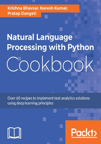 Okładka książki/ebooka Natural Language Processing with Python Cookbook
