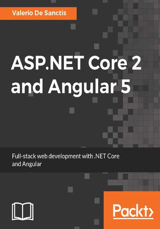 Okładka książki ASP.NET Core 2 and Angular 5