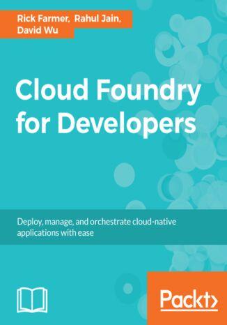 Okładka książki Cloud Foundry for Developers