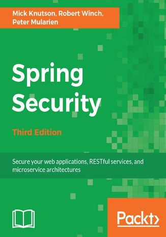 Okładka książki/ebooka Spring Security - Third Edition