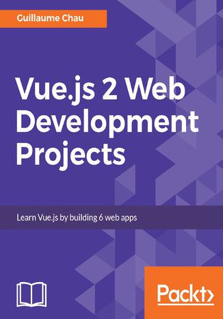 Okładka książki Vue.js 2 Web Development Projects
