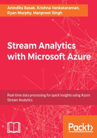 Okładka książki/ebooka Stream Analytics with Microsoft Azure