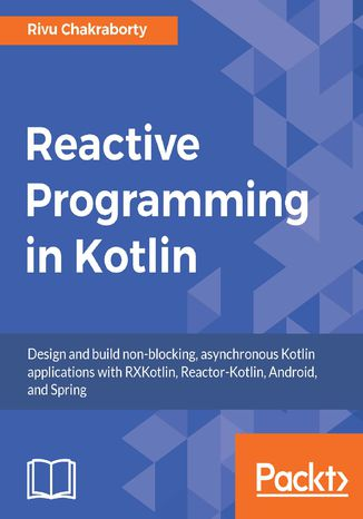 Okładka książki Reactive Programming in Kotlin