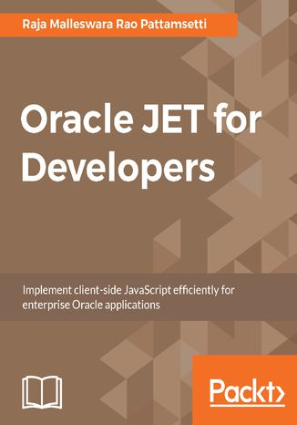 Okładka książki/ebooka Oracle JET for Developers