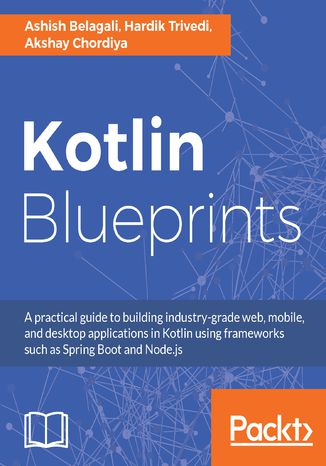 Okładka książki Kotlin Blueprints