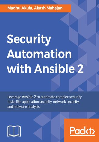 Okładka książki/ebooka Security Automation with Ansible 2