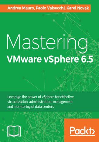 Okładka książki Mastering VMware vSphere 6.5