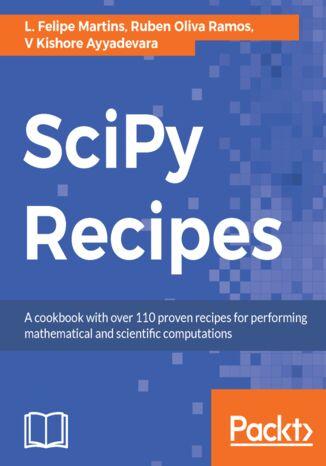 Okładka książki SciPy Recipes