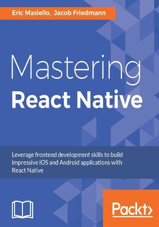 Okładka książki/ebooka Mastering React Native