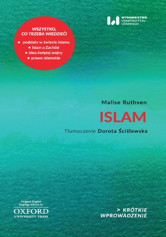 Okładka książki Islam. Krótkie Wprowadzenie 18