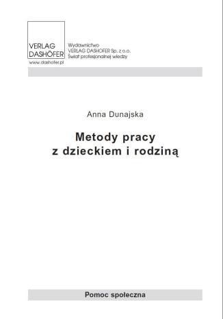 Okładka książki/ebooka Metody pracy z dzieckiem i rodziną