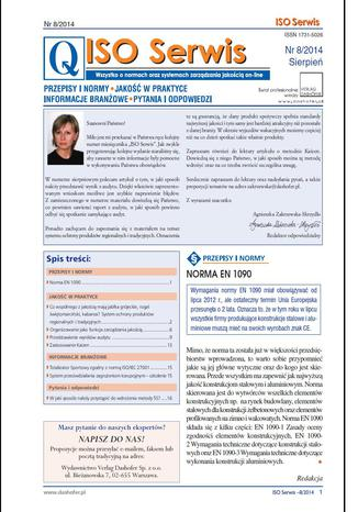 ISO serwis on-line nr.8/2014r