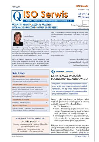 ISO serwis on-line nr.9/2014