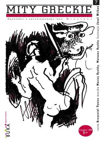 Okładka książki Opowieści z zaczarowanego lasu. Minotaur