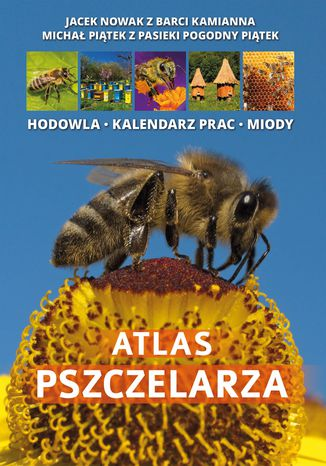 Okładka książki Atlas Pszczelarza