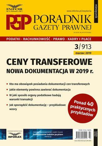 Okładka książki Ceny transferowe - dokumentacja w 2019 r