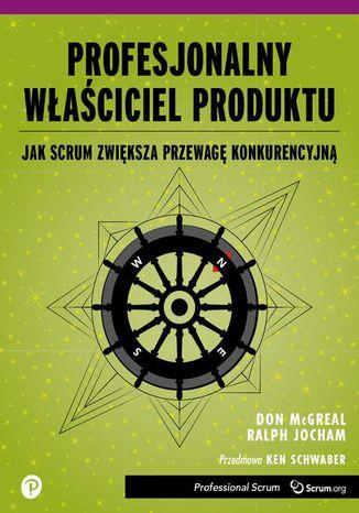 Okładka książki/ebooka Profesjonalny Właściciel Produktu