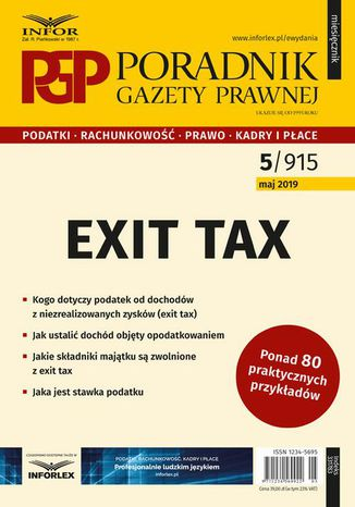 Ebook Exit tax