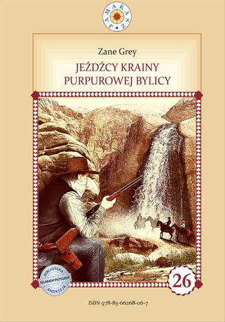 Okładka książki/ebooka Jeźdźcy krainy purpurowej bylicy