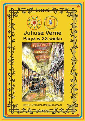 Okładka książki Paryż w XX wieku