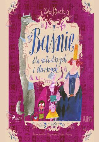 Okładka książki Baśnie dla młodszych i starszych: Kopciuszek